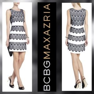 "NWOT BCBG ""Lorena"" Lace Cocktail Dress size 6"